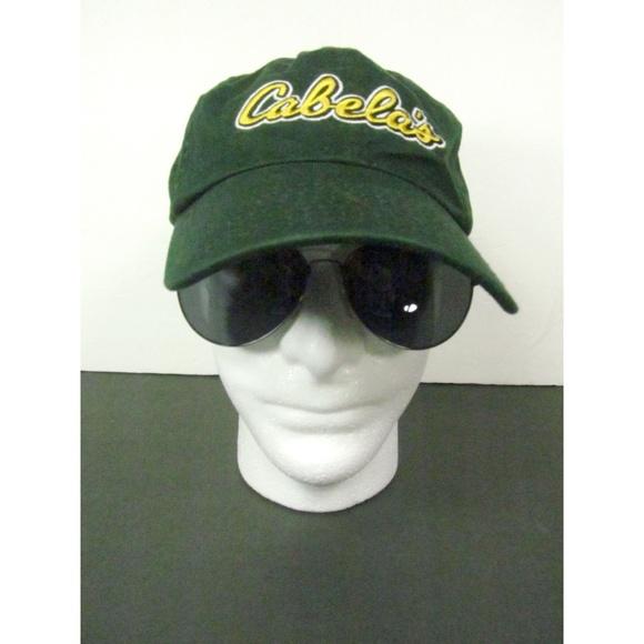 6ed9115c147 Cabela s Adjustable Fit Cap Hat Dark Green